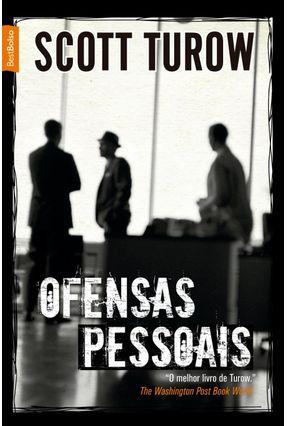 Ofensas Pessoais - Edição de Bolso - Turow,Scott pdf epub
