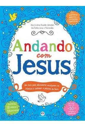 Andando Com Jesus - Schreiber,Ana Cristina Rissette | Hoshan.org