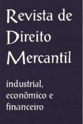 Revista De Direito Mercantil - Diversos | Tagrny.org