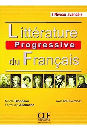 Litterature Progressive Avance Livre Nouvelle Couv - CLE | Hoshan.org