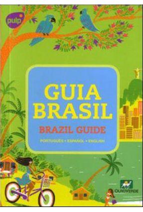 Edição antiga - Guia Brasil -  Brazil Guide - Verde,Ouro   Hoshan.org