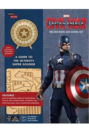 Marvel's Captain America Civil War - Incredibuilds Deluxe Book And Model Set - Barba,Rick Insight Editions, | Tagrny.org