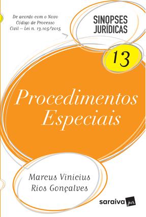 Edição antiga - Procedimentos Especiais - Col. Sinopses Jurídicas - Rios Gonçalves,Marcus Vinícius | Hoshan.org