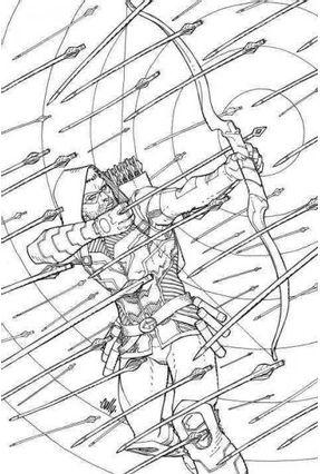 Coloring Dc - Green Arrow - Various, | Hoshan.org