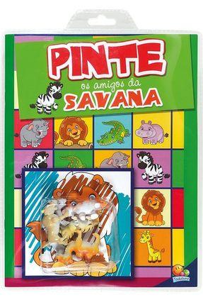 Pinte Os Amigos Da Savana - Edicart pdf epub