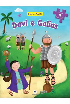 Davi e Golias - Col. Leia e Monte - Editora Ciranda Cultural | Nisrs.org