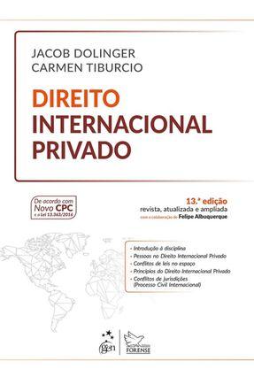 Direito Internacional Privado - 13ª Ed. 2017 - Dolinger,Jacob Tiburcio,Carmen | Hoshan.org