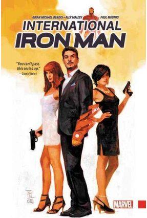International Iron Man - Bendis,Brian Michael | Hoshan.org