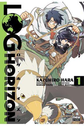 Log Horizon Mangá -  Vol. 1 - Hara,Kazuhiro pdf epub