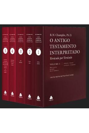 Box - Antigo Testamento Interpretado - Versículo Por Versículo - 5 Volumes - Champlin,Russel Norman pdf epub