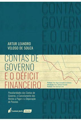 Contas De Governo E O Déficit Financeiro - Souza,Artur Leandro Veloso de | Hoshan.org