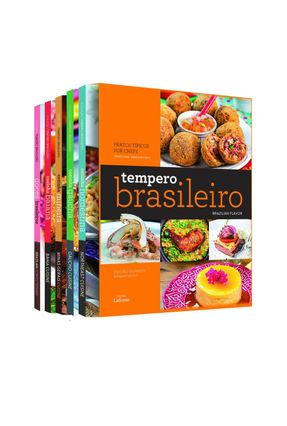 Box - Tempero Brasileiro - Bilíngue - Editora,Lafonte pdf epub