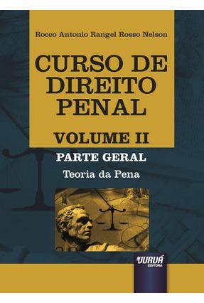 Curso De Direito Penal Volume II - Rangel Rosso Nelson,Rocco Antonio | Hoshan.org