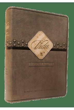 Bíblia De Estudo Vida - Capa Pu Marrom e Café - Editora Vida | Hoshan.org