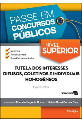 Passe Em Concursos Públicos - Nível Superior - 2ª Ed. 2017 - Stefani,Marcos pdf epub