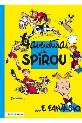 4 Aventuras de Spirou e Fantasio - Franquin   Tagrny.org