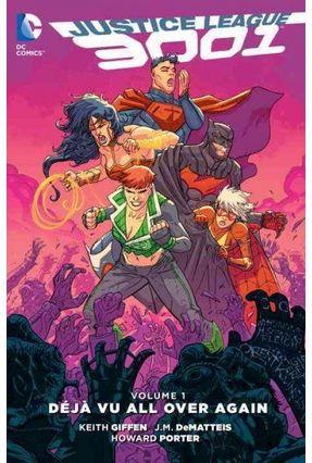 Justice League 3001, Volume 1 - Deja Vu All Over Again - Giffen,Keith   Hoshan.org