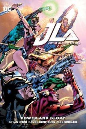 Justice League Of America - Power & Glory - Hitch,Bryan Bryan Hitch   Hoshan.org