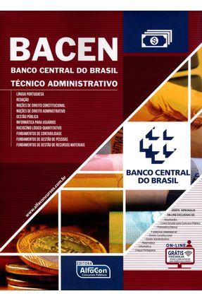 Bacen - Banco Central do Brasil - Técnico Administrativo - Alfacon | Hoshan.org