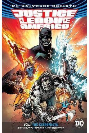 Justice League Of America Vol. 1 - Rebirth - Orlando,Steve | Hoshan.org