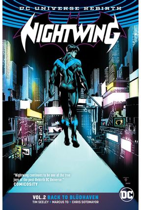 Nightwing Vol. 2 -  Back To Bludhaven - Rebirth - Seeley,Tim | Tagrny.org