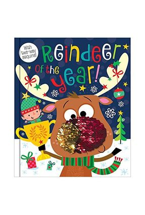 Reindeer Of The Year! - Two-Way Sequins - MAKE BELIEVE | Hoshan.org