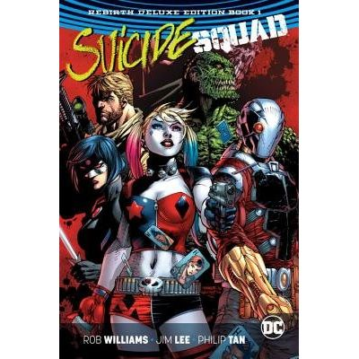 Suicide Squad - The Rebirth Collection Deluxe Book One