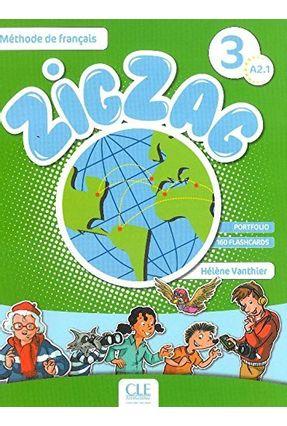 Zig Zag 3 - A2.1 - Livre De L'élève - Vanthier,Hélène   Tagrny.org