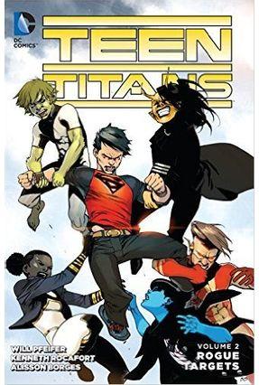 Teen Titans Rogue Targets Vol. 2 - Pfeifer,Will | Hoshan.org