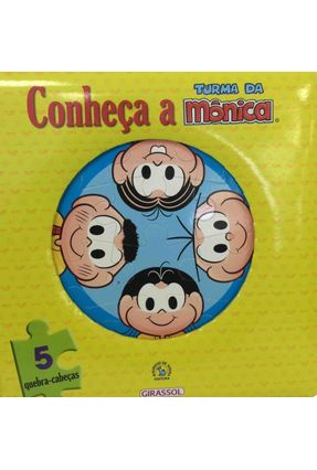 Conheça A Turma Da Mônica - Livro E Quebra-Cabeça - Sousa,Mauricio | Hoshan.org