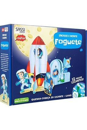 Foguete - Encaixe e Monte - Gaule,Matteo | Hoshan.org