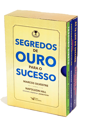 Box - Segredos De Ouro Para o Sucesso - 3 Volumes - Silvestre,Marcos Petry,Jabob   Nisrs.org