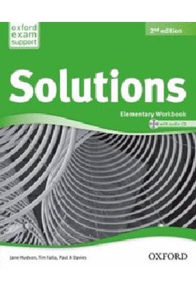 Solutions Elementary - Workbook And Audio CD Pack - 2ª Ed. 2012 - Falla,Tim | Nisrs.org