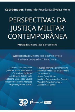 Perspectivas Da Justiça Militar Contemporânea - Mello,Fernando Pessôa da Silveira pdf epub