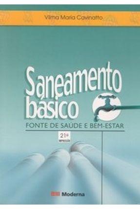 Saneamento Básico - Col. Desafios - 2ª Edição 2003 - Cavinatto,Vilma Maria pdf epub