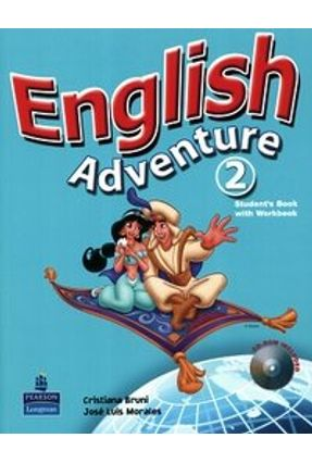 English Adventure 2 - Student Book/ Activity Book With CD-Rom - Morales,Jose Luis Bruni,Cristiana | Hoshan.org