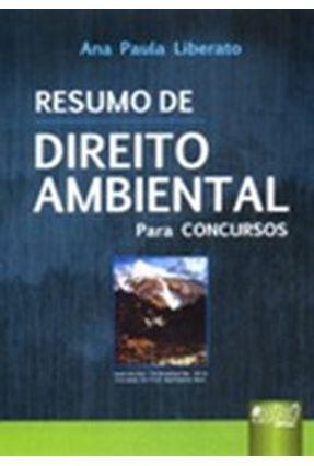 Resumo de Direito Ambiental para Concursos - Liberato,Ana Paula pdf epub