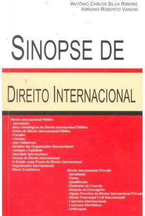 Sinopse De Direito Internacional - Vancim,Adriano R. Ribeiro,Antônio Carlos Silva   Hoshan.org