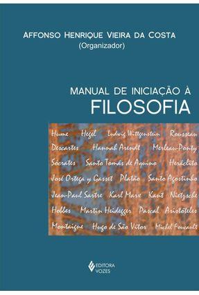Manual de Iniciação À Filosofia - Costa,Affonso Herique Vieira da   Nisrs.org