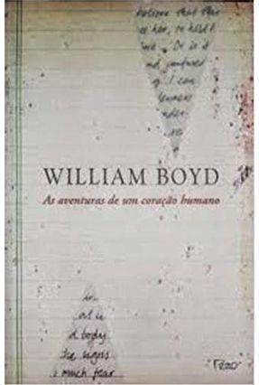 Edição antiga - As Aventuras de um Coração Humano - Boyd,William | Hoshan.org