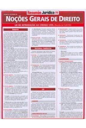 Noções Gerais de Direito - Lei de Intodução ao Código Civil -  Resumão - Escobar Jr.,Lauro R.   Hoshan.org