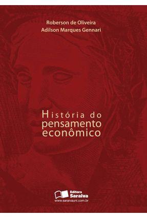 História do Pensamento Econômico - Gennari,Adilson Marques Oliveira,Roberson | Hoshan.org