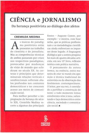 Ciência e Jornalismo - Da Herança Positivista ao Diálogo dos Afetos - Medina,Cremilda | Hoshan.org