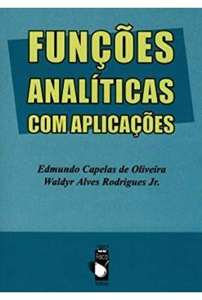 Edição antiga - Fundações Analíticas com Ampliações - Oliveira,Edmundo Capelas de   Nisrs.org