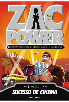 Zac Power 9 - Sucesso de Cinema - Larry,de H. I. pdf epub