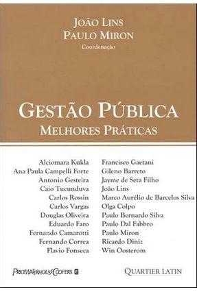 Gestão Pública - Melhores Práticas - Lins,João pdf epub
