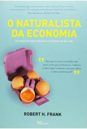 O Naturalista da Economia - Robert,Frank pdf epub
