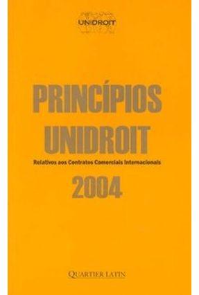 Princípios Unidroit 2004 - Villela,João Baptista pdf epub