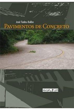 Pavimentos de Concreto - Balbo,José Tadeu pdf epub