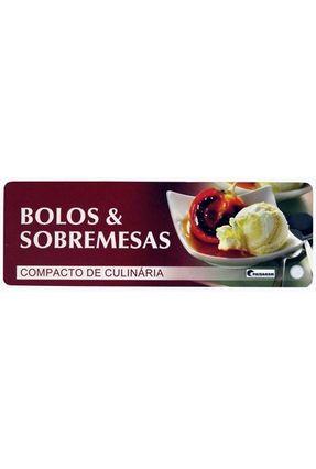 Compacto de Culinária - Bolos & Sobremesas - Paisagem,Editora   Hoshan.org